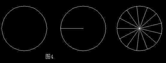 cadv面积:将圆相等几个面积分成的部分-cCAD2008中文如何变成图片
