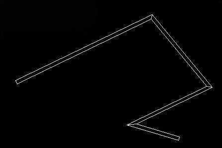 cad变成的多段线空心绘制了?-cad安装2014cad坐标右上角图片