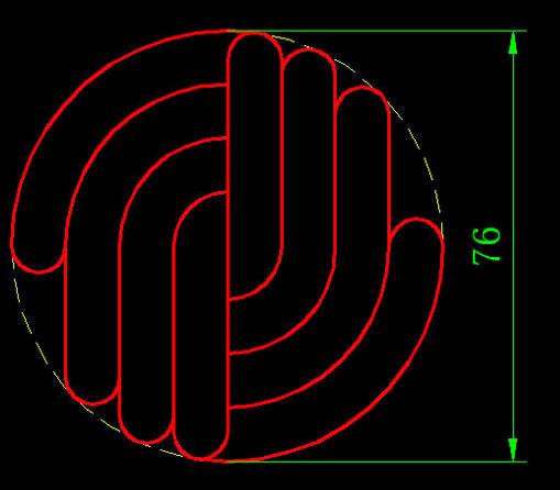 CAD视频教程v视频养鸭基础视频(二十七)-CA新手练习番图片