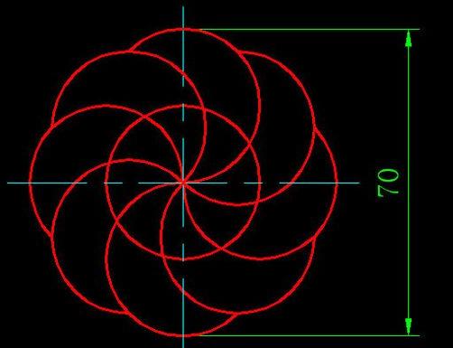 CAD教程基础v教程练习新手(十二)-CAD借鉴教cad里快的圆安装图片