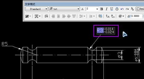 CAD正负号怎么打??