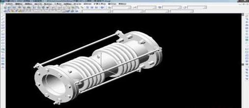 将CAD二维直角转换为三维视图-CAD安cad视图合并图片