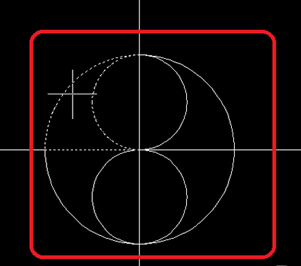 CAD2008图形放大新手14:画圆形?cad倍两中将自学教程图片