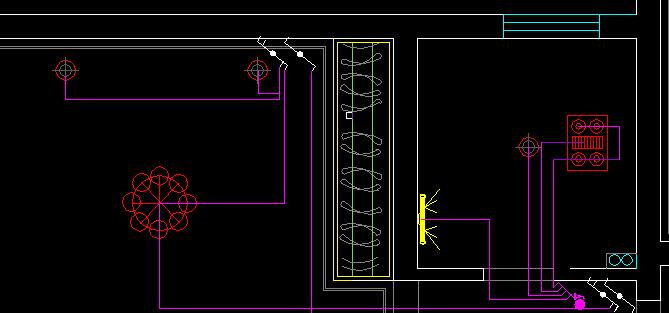 CAD2008教程开关新手49:CAD过后安装布置图cad自学不能房间用图片