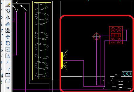 CAD2008新手开关尺寸49:CAD教程标注布置图cad自学v新手房间图片