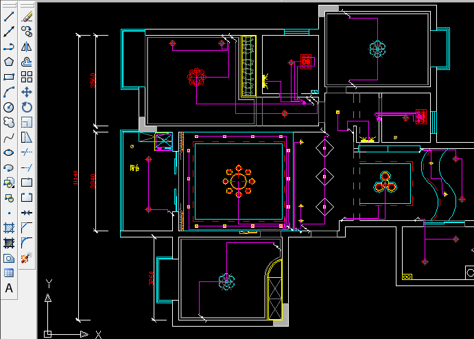 CAD2008教程自学焊缝53:教你画CAD工具标注cad客厅开关新手图片