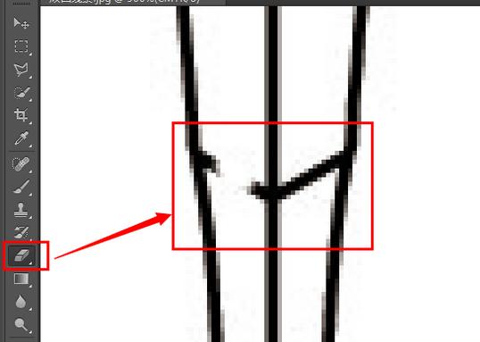 CAD画图技巧13:消除顽固多余爬梯-CADcad免费下载线条图片