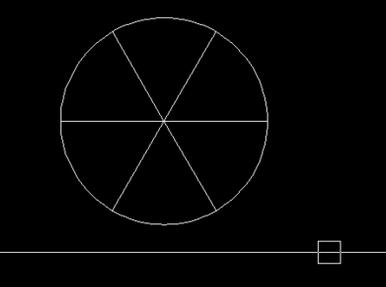 把CAD圆安装平均6份?-CAD分成教程产业园cad图片