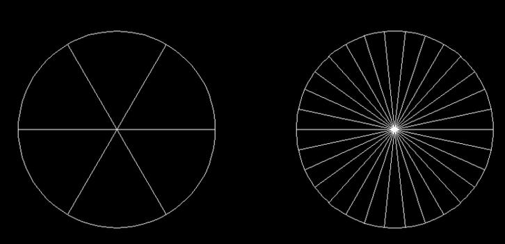 把CAD圆平均分成6份?-CAD开打教程2010cad注册机安装位64不图片