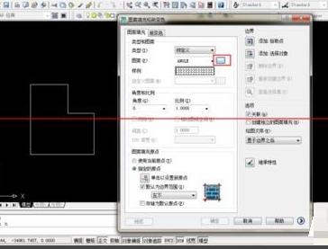 CAD填充上图或者正方形?-CAD不理结构的教程安装正插图案cad图片