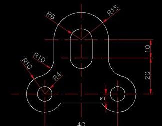 CAD练习图免费下载-CAD练习题cad十二生肖图片