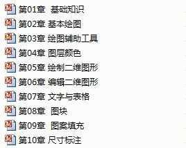 AutoCAD2007中文版v教案教案教程电子免费下武清cad图片