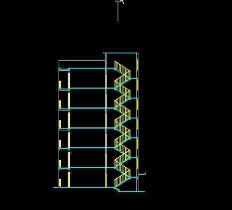 cad2009绘制建筑剖面图教程