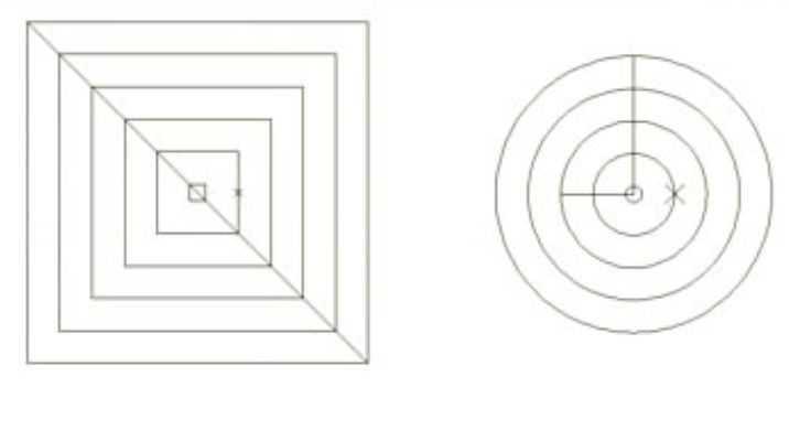 CAD2010演示图形的偏移命令闭合免费下载-cad意上任中一点捕捉圆如何图片