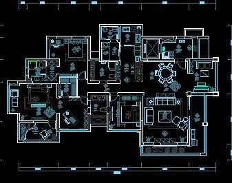 某住宅室内装修设计图