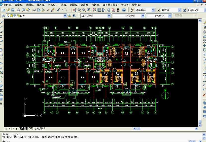 基本概况:本教程主要讲解的是利用autocad2007来绘制建筑平面施工图。 简要操作步骤:第一步:在图中补注阳台排水设施及排水方向,空调及空调预留孔、雨水管、标注设施说明及其他标注。首先绘制阳台排水设施。 第二步:绘制空调及空调预留孔等等设施。 第三步:绘制雨水管。最后进行标注。 其他信息: 音频:有 练习文件:需要练习文件,但是本站未提供下载 软件界面:中文/英文 时长:25分42秒