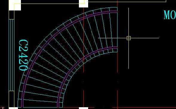 CAD中做靠背弯床弧形cad2016注册码版的图片