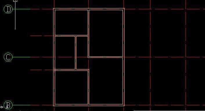 autocad绘制墙体教程