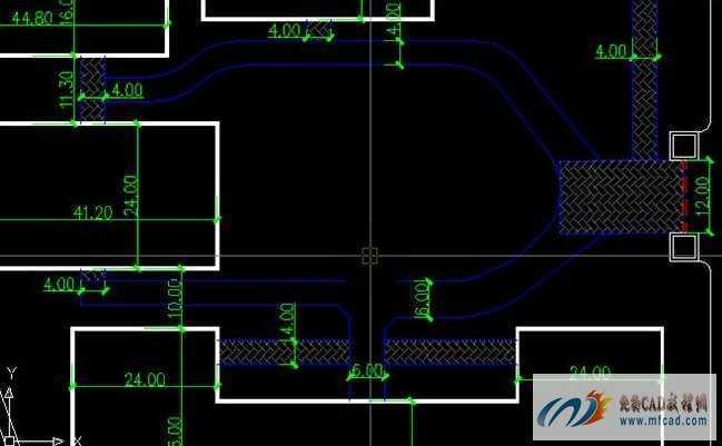绘制厂房平面图道路方法教学免费下载 AutoCAD室内外施工图绘制教程