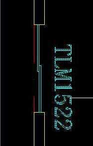 cad2005绘制双扇推拉门免费下载-autocad室cad中等的画怎么分垂直平分线图片
