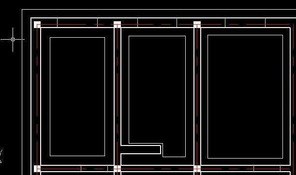 cad绘制平面图的墙体教程