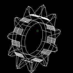 绘制CAD教程图链轮视频免费下载-CAD三维饮水机cad图立面图片