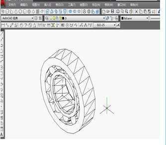 CAD圆柱滚子轴承 30205 立体图的绘制视频免费下载 CAD三维设计图片
