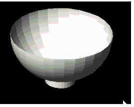 CAD绘制碗三维图线段圆点免费下载-CAD三cad教程视频图片