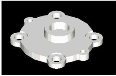 CAD绘制泵盖图教程视频免费下载-CAD三维cad砌墙墙拆图片