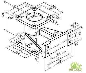CAD建模实体练习综合绘制免费下载-CAD三铺装cad图图片