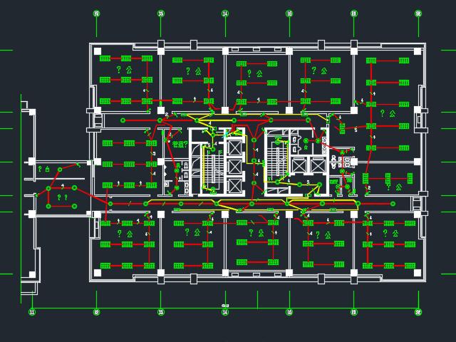 二十四层办公楼电气消防报警系统毕业设计