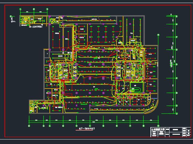 综合楼照明及综合布线系统电气毕业设计