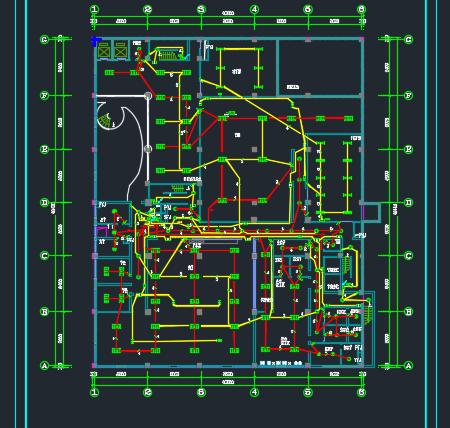 科研楼照明及电视监控系统电气毕业设计