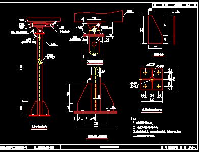 七层仿古佛塔建筑施工图
