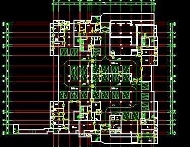 建筑地下室平面图免费下载图片