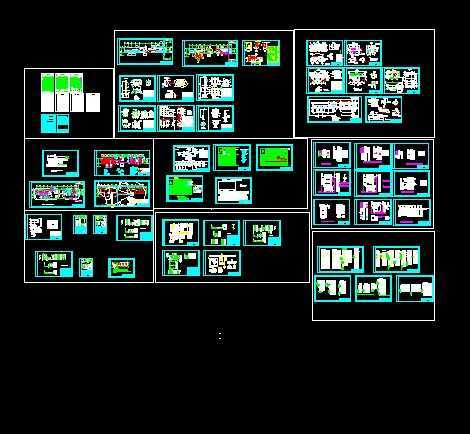 35kv变电站电气施工图免费下载