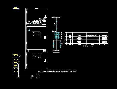 110kv变电站20kv开关柜设计图