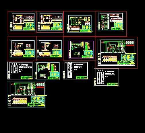 kb0控制风机电气系统图