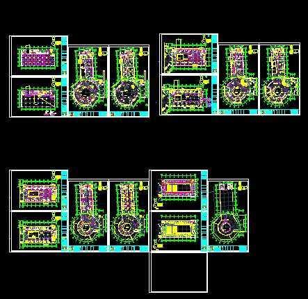 电力图纸-新电力网; 某科技馆电气施工图免费下载