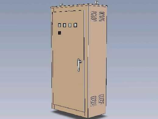 配电箱3d图纸免费下载