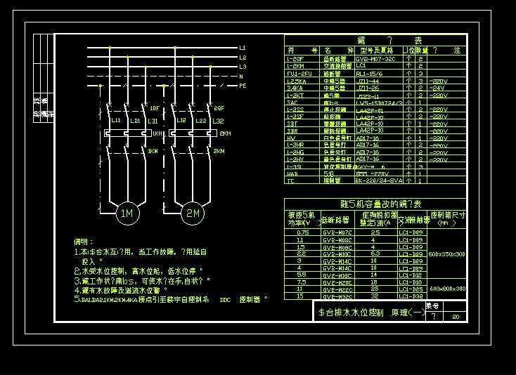 常用电气控制原理图