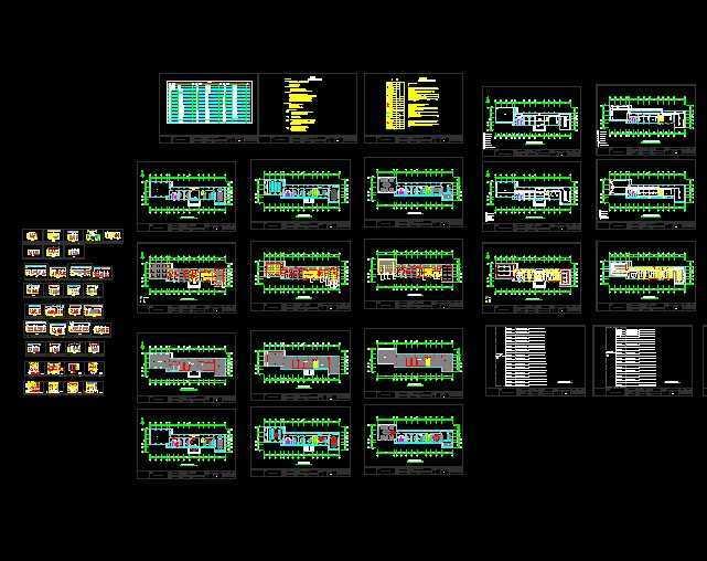 电气设计图免费下载