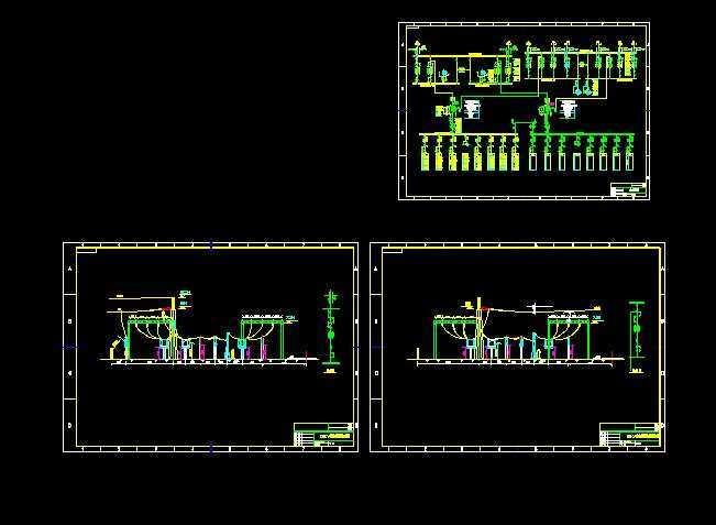 10kv-35kv-10kv变电站设计附cad图纸