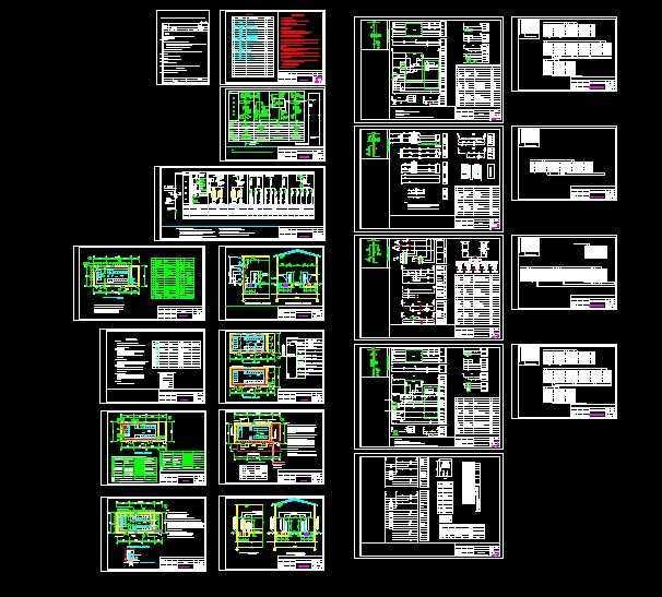 10kv高压配电柜全套电气接线图