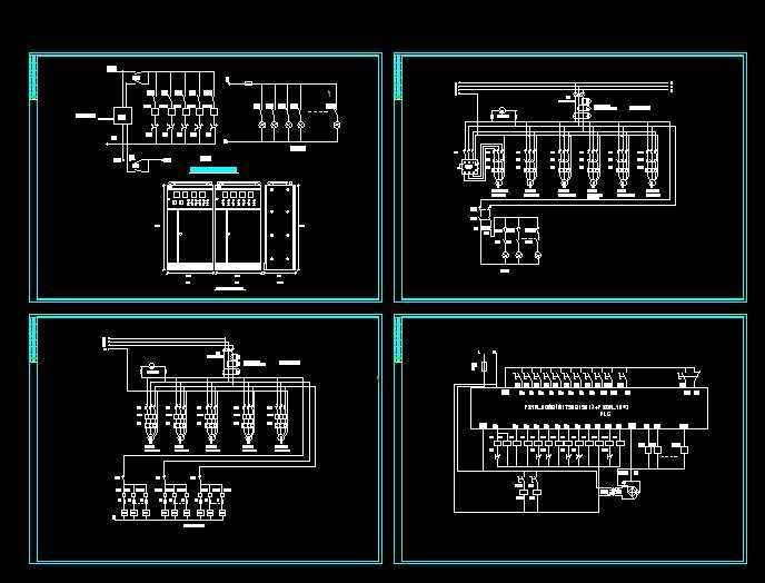 音乐喷泉电气控制图