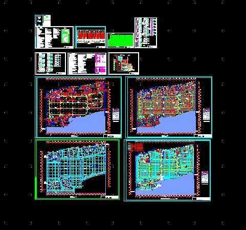火灾自动报警系统设计施工图