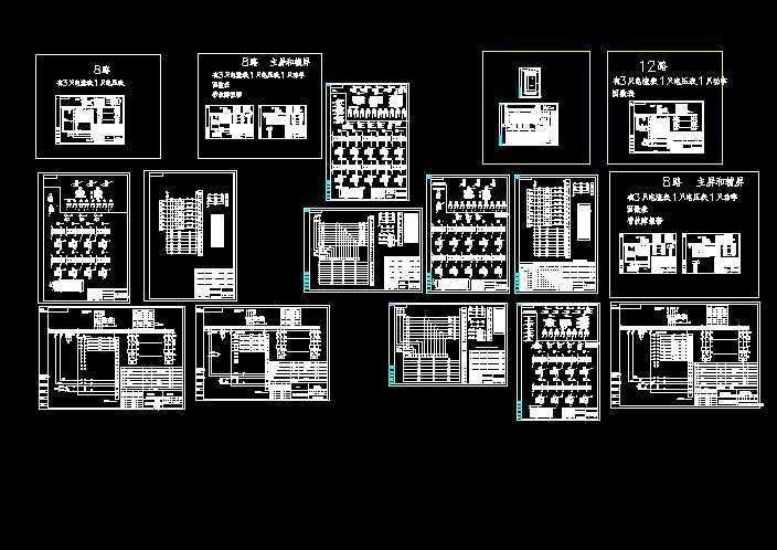 常用电容柜原理接线图