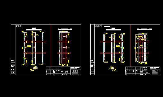 仿威图柜体CAD图纸免费下载 _ 电气图纸 _ 土木