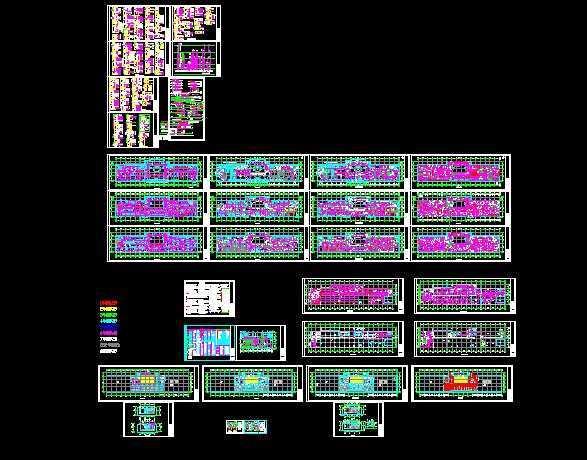 电气某办公楼图纸精装施工图免费下载-经典图caxa编号电气左上角图片