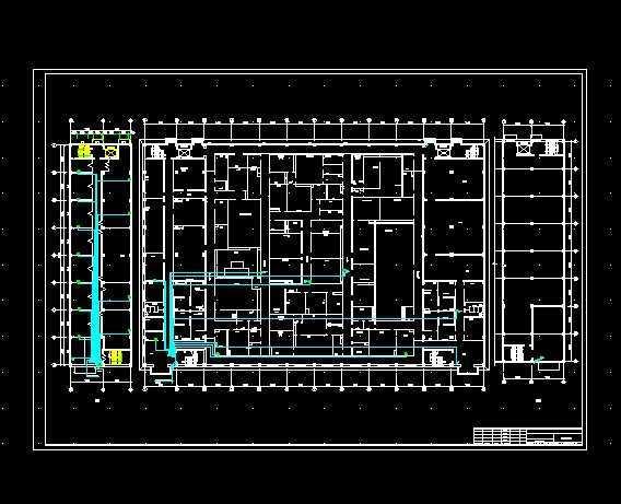 药厂车间电气施工图